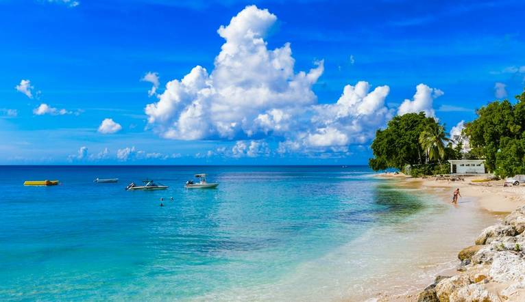 Shutterstock 168014735 Coast Of The Carribean Sea, Bridgetown