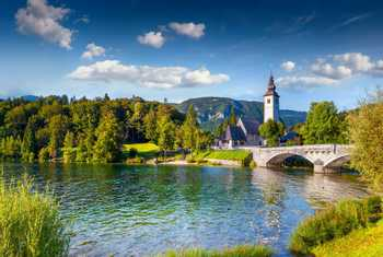 Bohinj Lake, Triglav National Park, Julian Alps, Slovenia Shutterstock 247675303