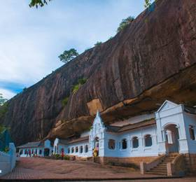 Travel to Kandy via the Dambulla Cave Temples