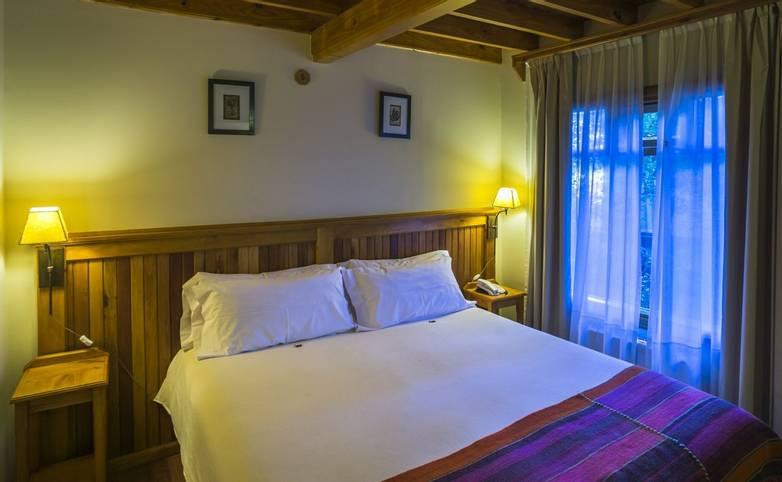 Patagonia -Bedroom at Inn Hosteria Senderos, El Chalten, Santa Cruz Province, Argentinian, Argentina (1).JPG