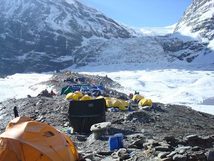 Dhaulagiri Base Camp in Nepal