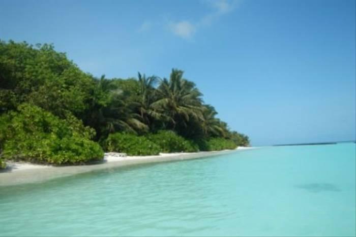 Maldivian island resort (Kerrie Porteous)