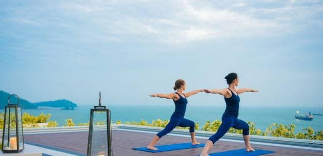 Yoga  at Amatara Wellness Resort
