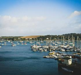 Arrival in Falmouth