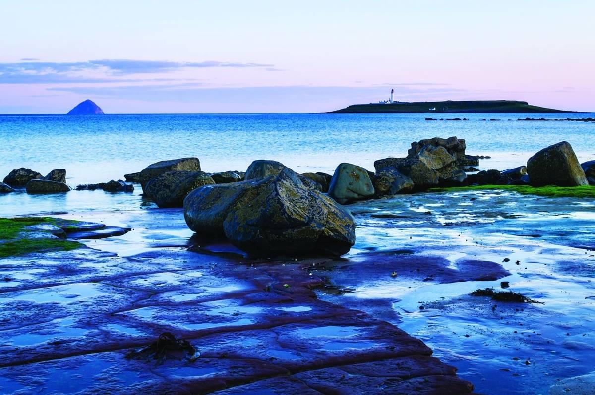 Kildonnan shore on the Isle of Arran, Scotland