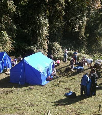 Tshoka camp (3,050m)