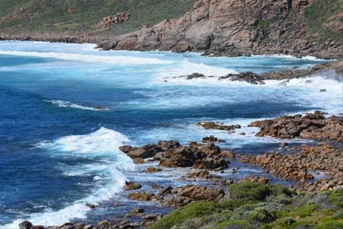 Coastline near Smith's Beach