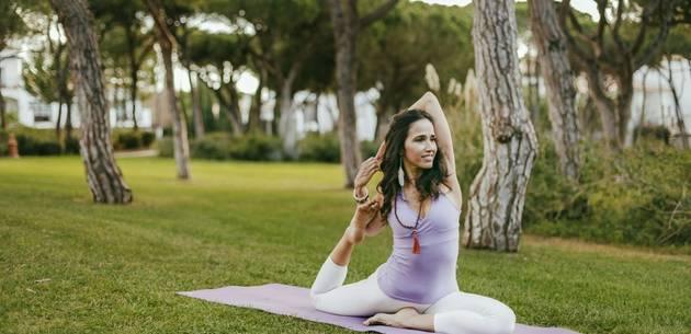 Yoga at Pine Cliffs Resort