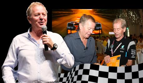 F1 Racing Legend Martin Brundle