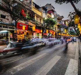 Fly Hanoi to the UK