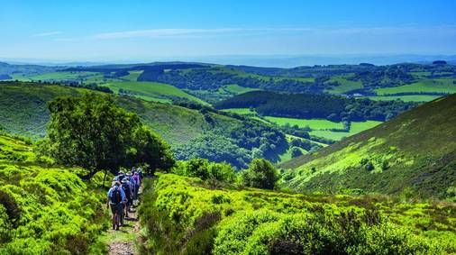4-Night Shropshire Hills Guided Walking Holiday