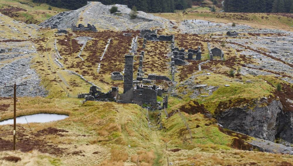 Slate Mine Wales