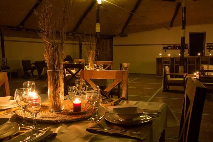Hara Langano Restaurant At Night