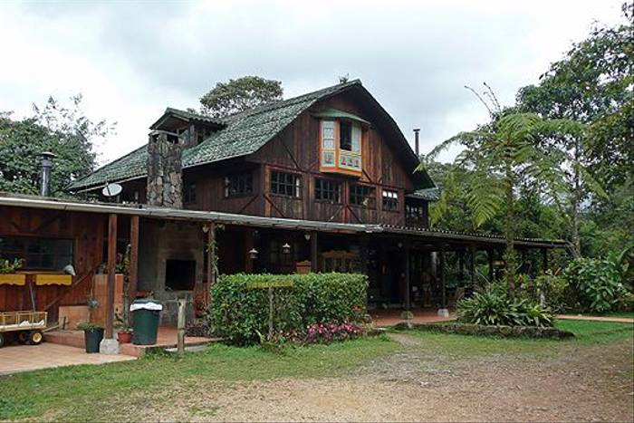 Sachatamia Lodge, Mindo (Robert Davidson)