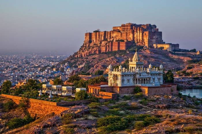 Jodhpur, Rajasthan, India (Mehrangarh Fort) Shutterstock 273400190