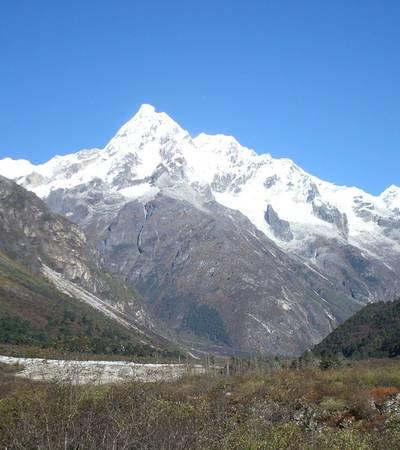 View from Tarina camp at 5,080m