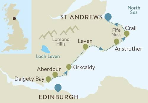 Best of Fife Map