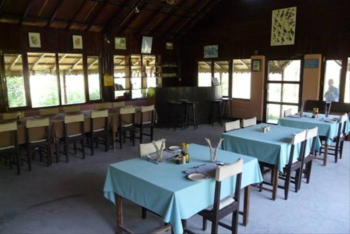 Koshi Camp dining hall