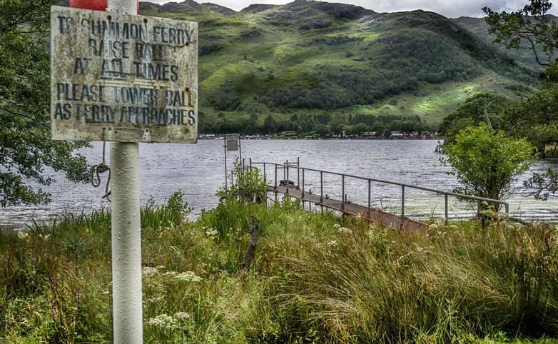 Ferry Terminal, Ardleish, Loch Lomond
