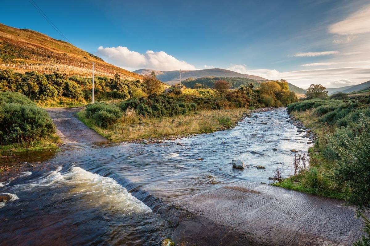 Ford on College Burn and The Cheviot