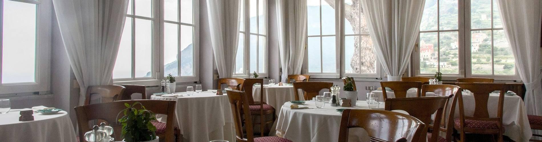 Villa Maria, Amalfi Coast, Italy, restaurant - veranda.jpg