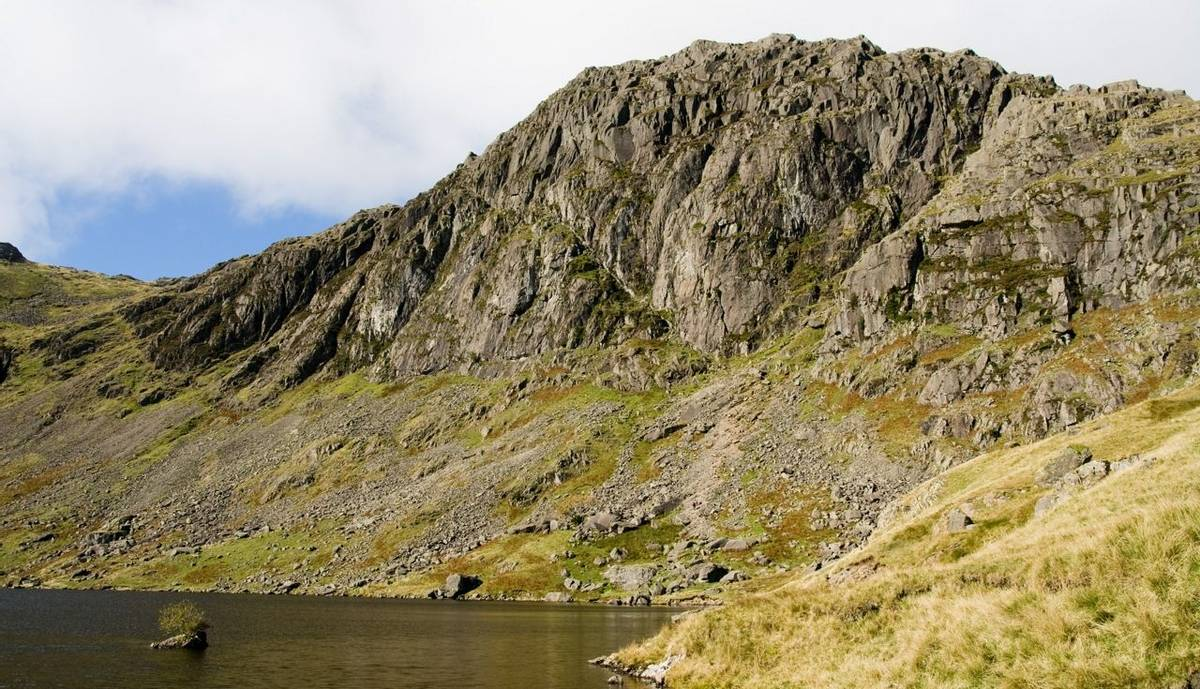 Stickle tarn and Jakes Rake