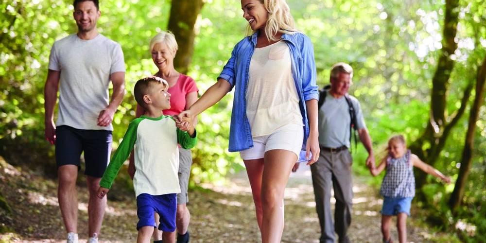Family walking adventures, HF Holidays