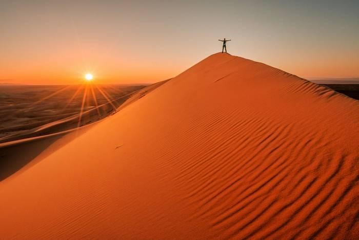 Sunset in the Gobi Desert, Mongolia shutterstock_767955664.jpg