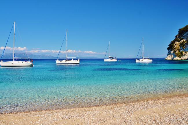 One Week Ionian Islands from Lefkas
