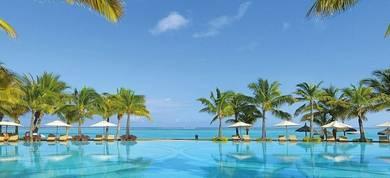 Paradis Hotel Mauritius Map New