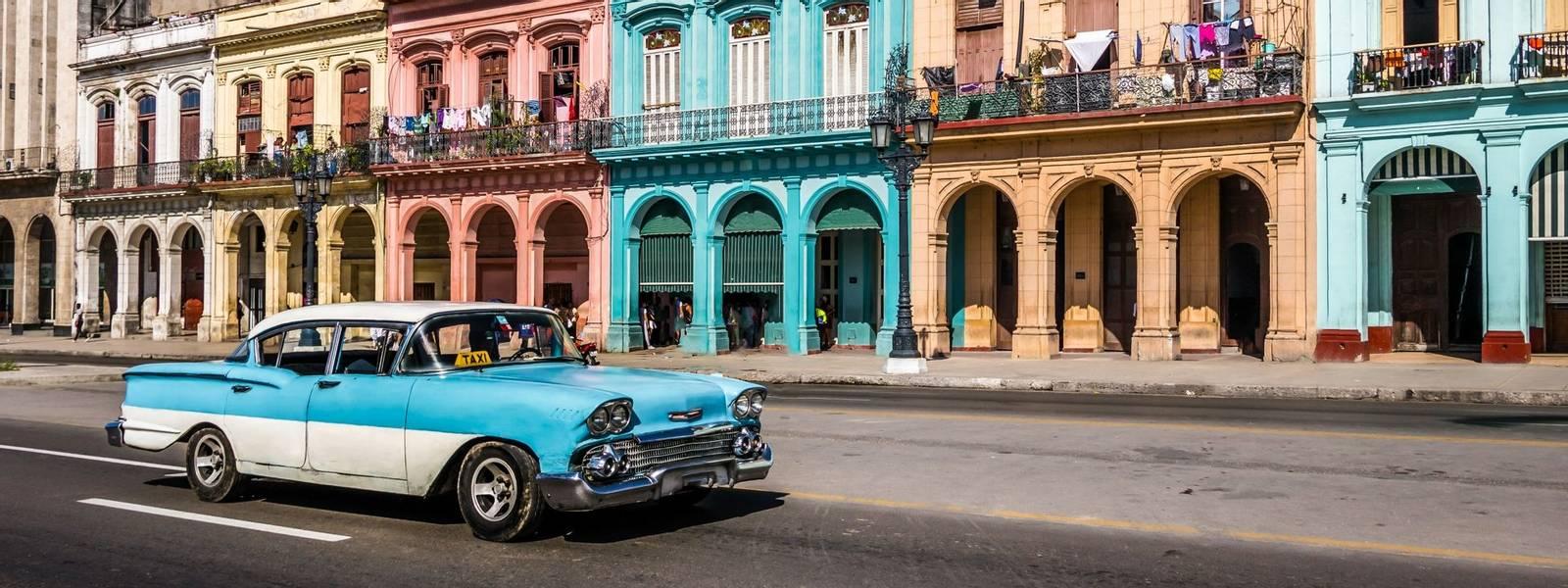 Old Havana downtown Street - Havana, Cuba