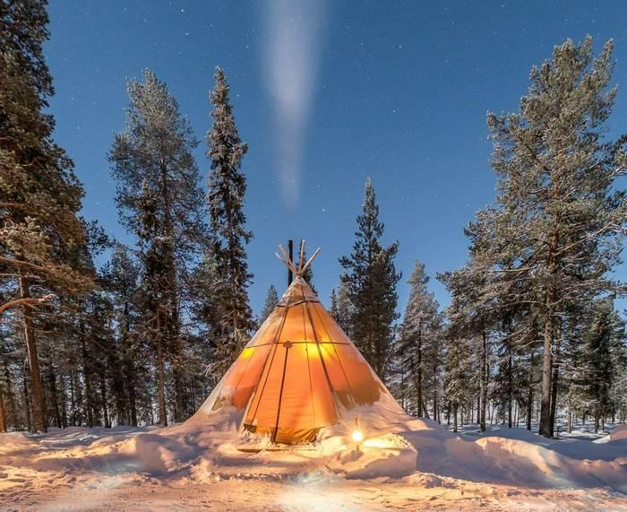 Sami Style Tent (Ann Miles)