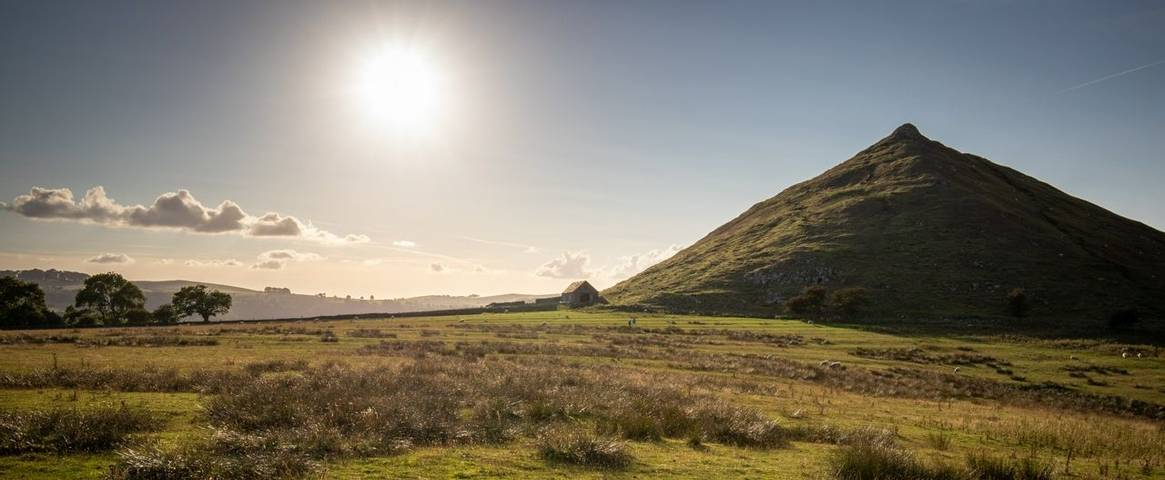 Thorpe Cloud, Dovedale in the English Peak District