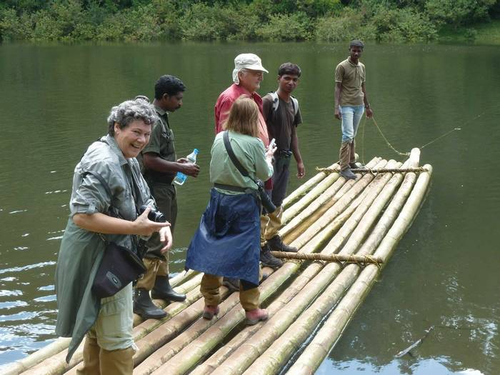 Crossing Lake Periyar (Steve Dutmer)