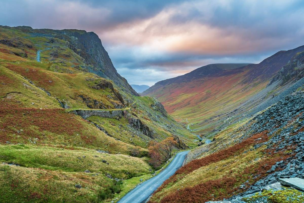 Honister Pass in the Lake District