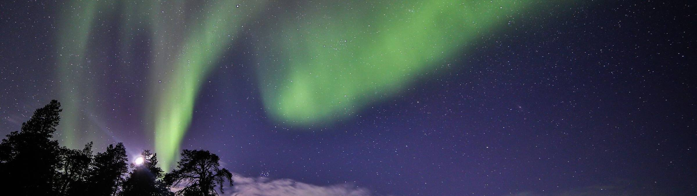 Northern Lights Holidays In Nellim Finnish Lapland