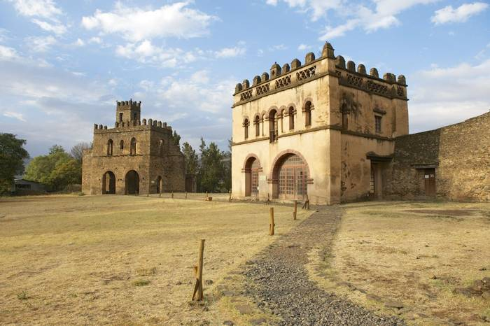 Medieval Fortess at UNESCO WHS, Gondar shutterstock_239136388.jpg