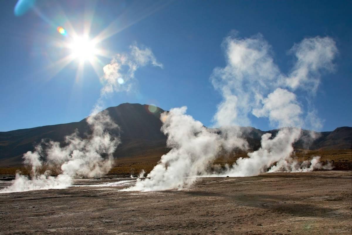 El Tatio Atacama region, Chile