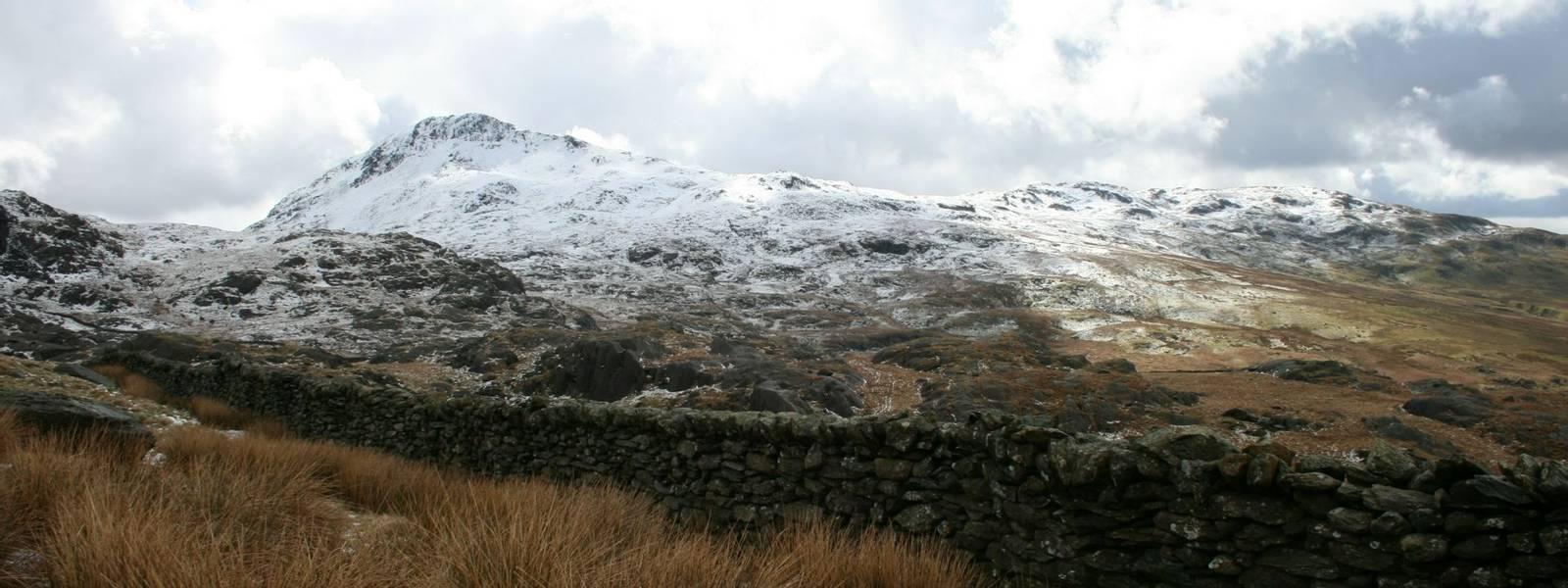 Mount Snowdon in Winter