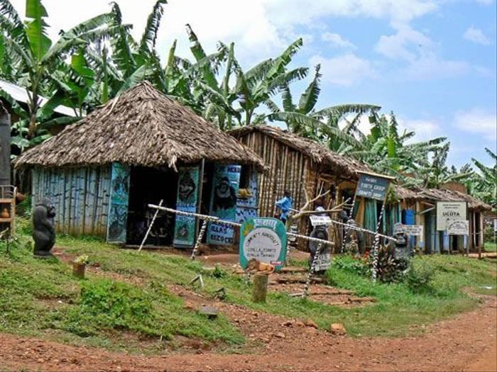 Shops in Bwindi (Tom McJannet)