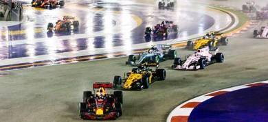 Singapore Gp Track A
