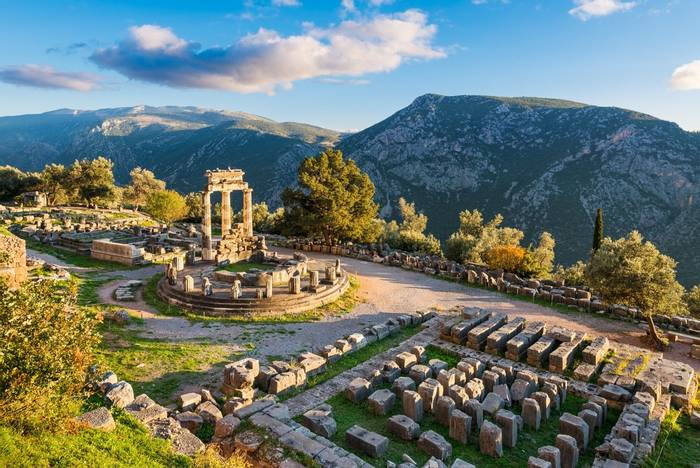 Temple of Athena, Delphi, Greece shutterstock_1246195618.jpg