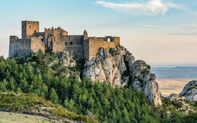Loarre Castle, Spain Shutterstock 322832150