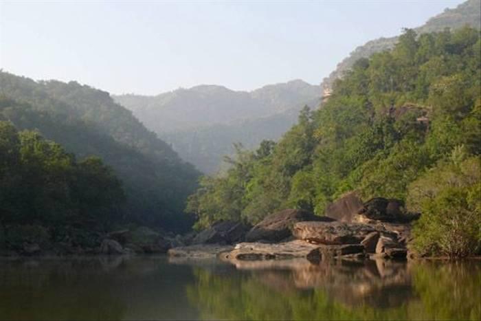 Sonbhadra backwater, Satpura (Hashim Tyabji)