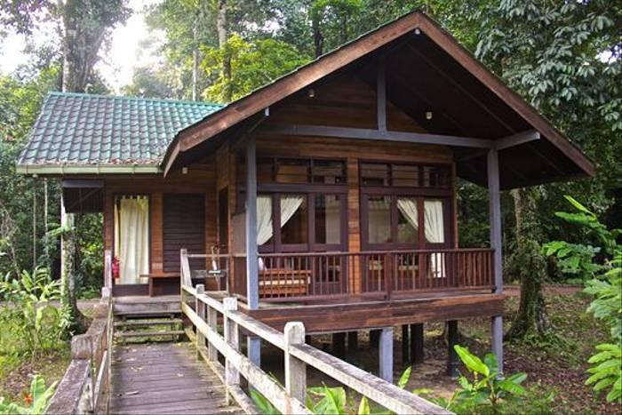 Outside of Room Borneo Rainforest Lodge (Dani Free)