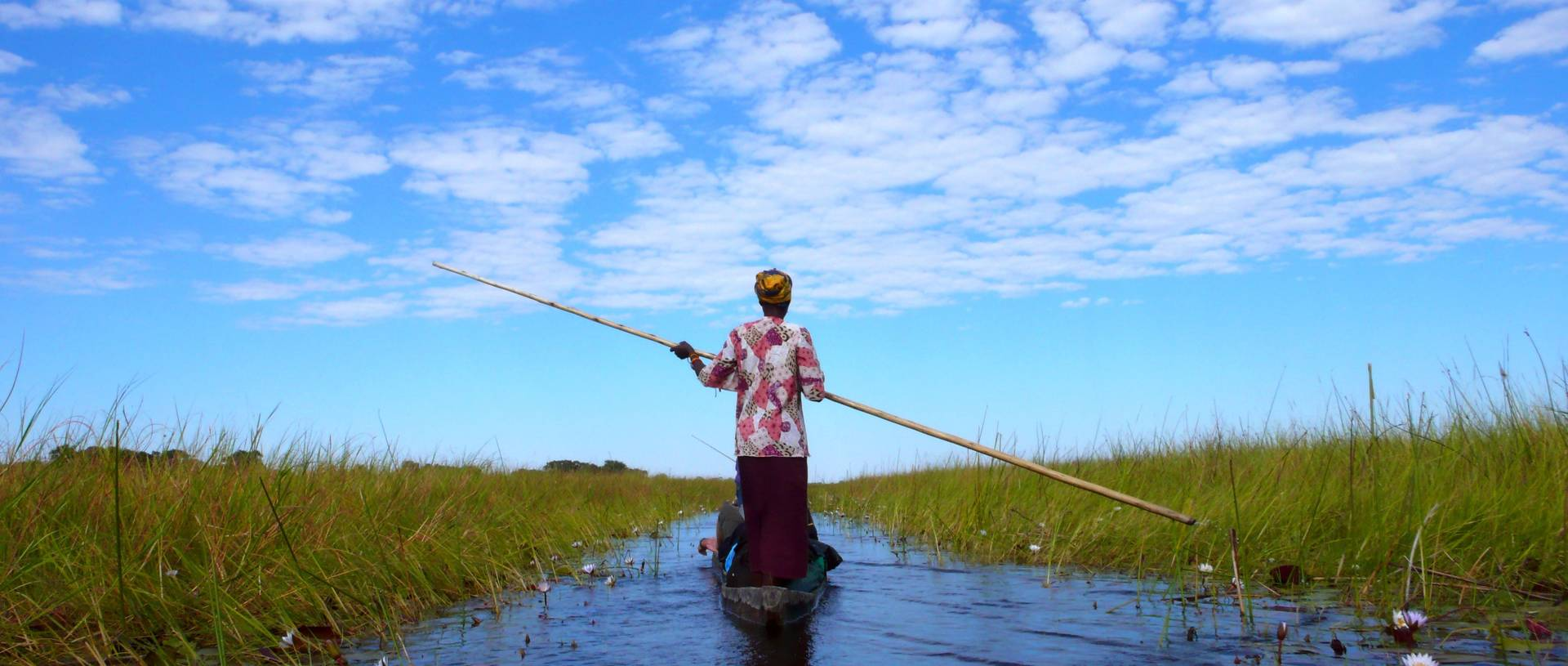 A Makoro Trip Through The Okavango Delta