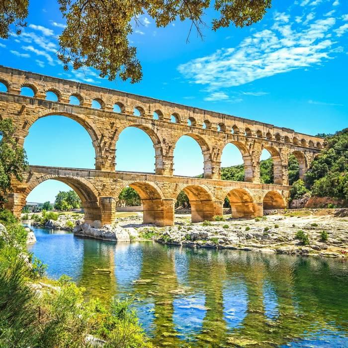 FRA07 Pont du Gard, Languedoc, France. shutterstock_158174645.jpg