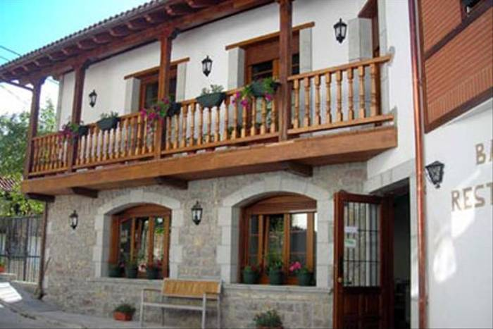 Our hotel in the southern Picos de Europa