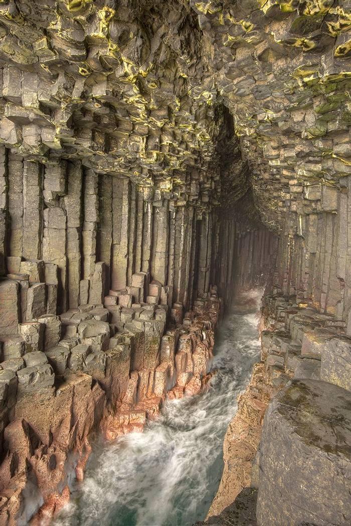 UK17 303 Fingal'S Cave, Staffa, Scotland