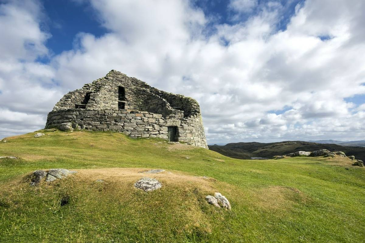 Dun Carloway Broch, Isle of Lewis, Outer Hebrides.